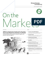 On the Markets-2013 Outlook