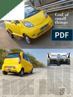 Tata Nano Road Test