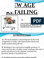 NEW AGE RETAILING