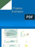 Exemplos de projetos de depósito de estéril