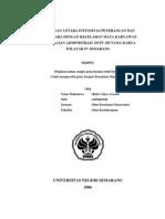 38524431 Hubungan Antara as Penerangan Dan Suhu Udara Dengan Kelelahan Mata Karyawan Pada Bagian Administrasi Di PT Hutama Karya Wilayah IV Semarang