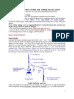 experiment distillation