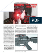 Small Arms Review Article on Laser Grips