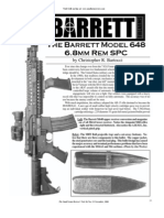 Small Arms Review Article on Barrett (NOV 2006)