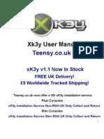 xK3y xKey x360Key xKey 360 Installation and user Manual for Fat / Phat Slim / RGH Xbox 360 Consoles