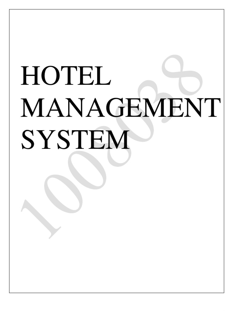 Hotel management system ccuart Images