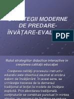 Strategii moderne