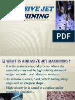 ABRASIVE JET MACHINNG