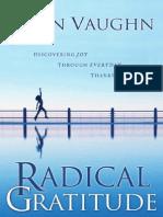 RADICAL GRATITUDE by Ellen Vaughn