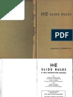 K & E Jetlog Slide Rule Manual