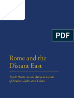Rome and the Distante East Trade Routes