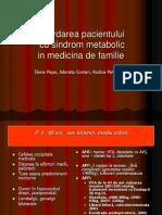 caz clinic sindrom metabolic