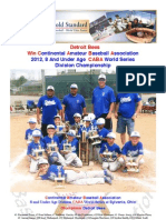 World Series Recap - 2012 - 08U