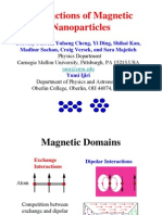 Interactions of Magnetic Nanoparticles