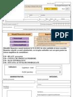 Formular Situatii Financiare