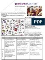 G6 Greek Myth and Assessment Task