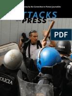 attack on press