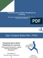 Neuro Motor Readiness Pl2011