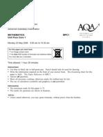 AQA-MPC1-W-QP-JUN06