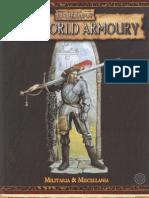 WHFRP 2ed Old World Armoury