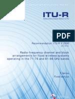 ITU-R E-Band