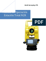 Estacion Total North N2R Manual de Operacion ES 2010 (Legacy)