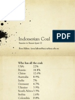 Indonesian Coal, Sunrise to Sunset