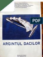 Argintul dacilor- catalog