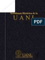 Historia de la U.A.N.L (Universidad Autónoma de Nuevo León)