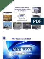 HVAC Noise and Vibration Control Summary
