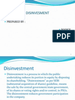 pptondisinvestment-110418024705-phpapp01