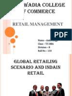Global vs India retai scenario