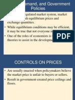 Price control & tax