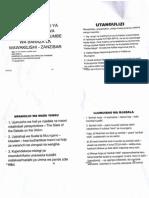 Paper ya Prof.Shivji kwa BLW - Katiba Mpya