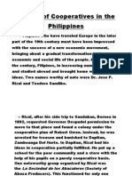 History of Cooperatives in the Pjilippines