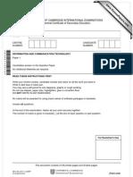 ICT Paper 1