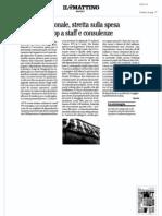 Rassegna Stampa 20.01.13