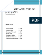 Apple Management Strategic Management Case Study | Apple Inc