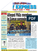 Alleged PAGs members  In Samar surrender to police