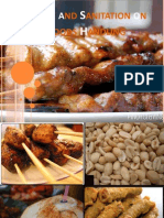 Hygiene and Sanitation on Street Foods Handling