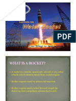 Lecture on Water Rocket