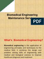 Biomedical Engineering Maintenance Services - Presentation 1