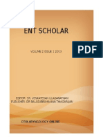 Ent scholar Volume 2 issue 1 2013