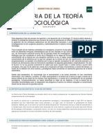 Hª teoría sociológica