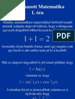 Alkalmazott matematika
