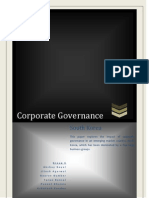 corporate governance in south korea
