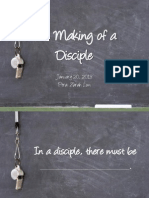 The Making of a Disciple - PPT