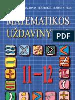 Matematikos Uzdavinynas 11-12 Klasei