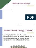 Business Level Strategies Taruna