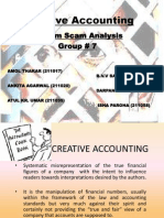 Creative Accounting - Satyam